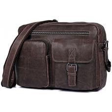 Мужская сумка через плечо Tiding Bag 1017B - Royalbag Фото 2