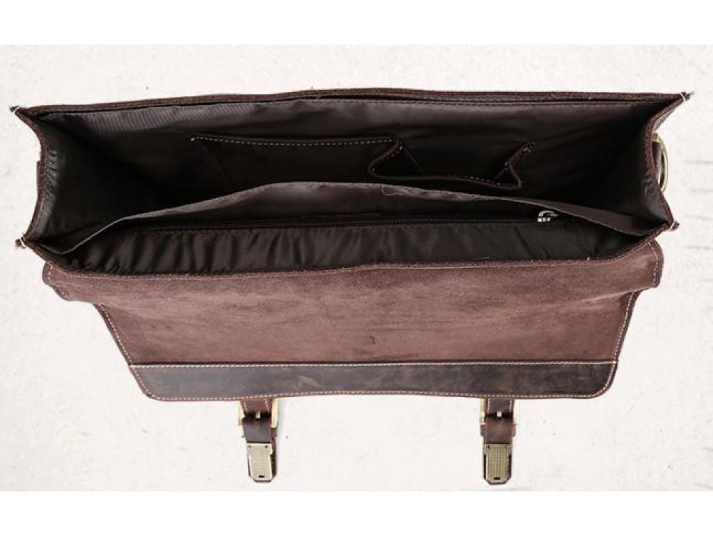 Мужской кожаный портфель TIDING BAG T1148 - Royalbag