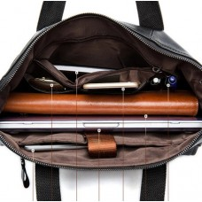Мужская деловая кожаная сумка Jasper & Maine 7120A-1 - Royalbag