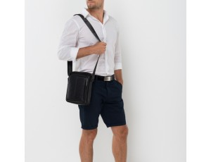 Сумка мужская через плечо из натуральной кожи Tiding Bag NA50-069A - Royalbag