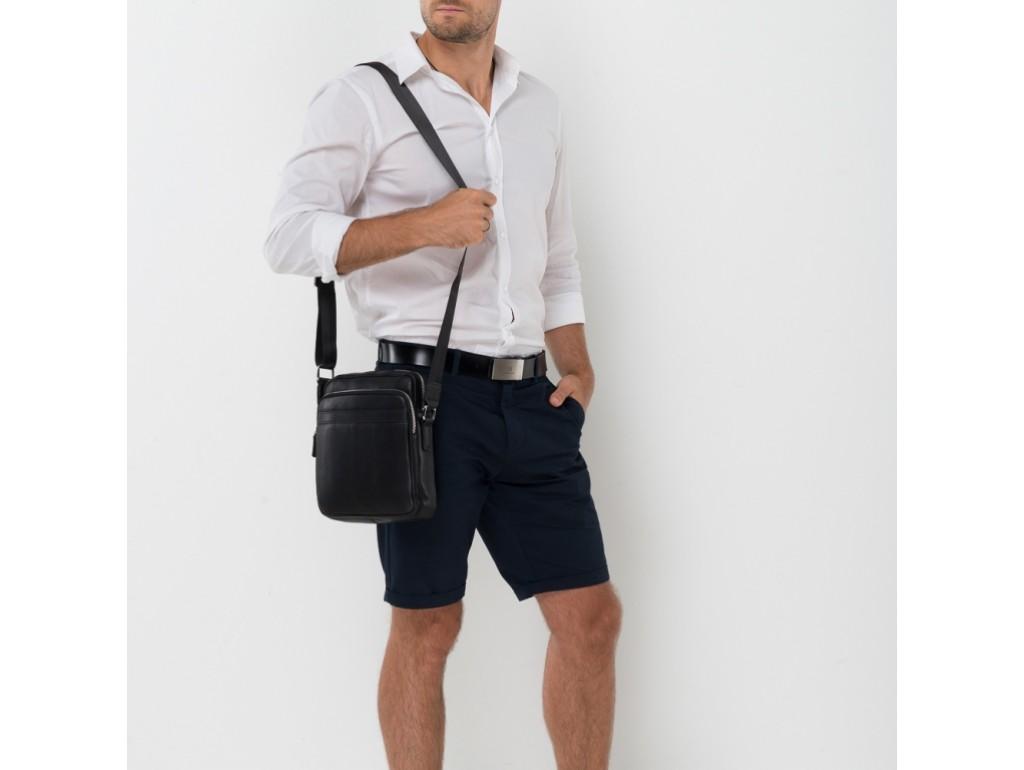 Стильная сумка через плечо мужская кожаная TIDING BAG NA50-2028A - Royalbag