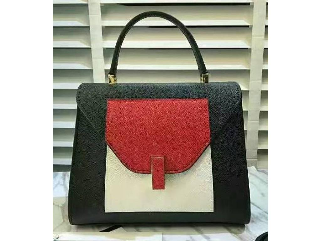 Женская сумка L.D L96316B-RAW - Royalbag Фото 1