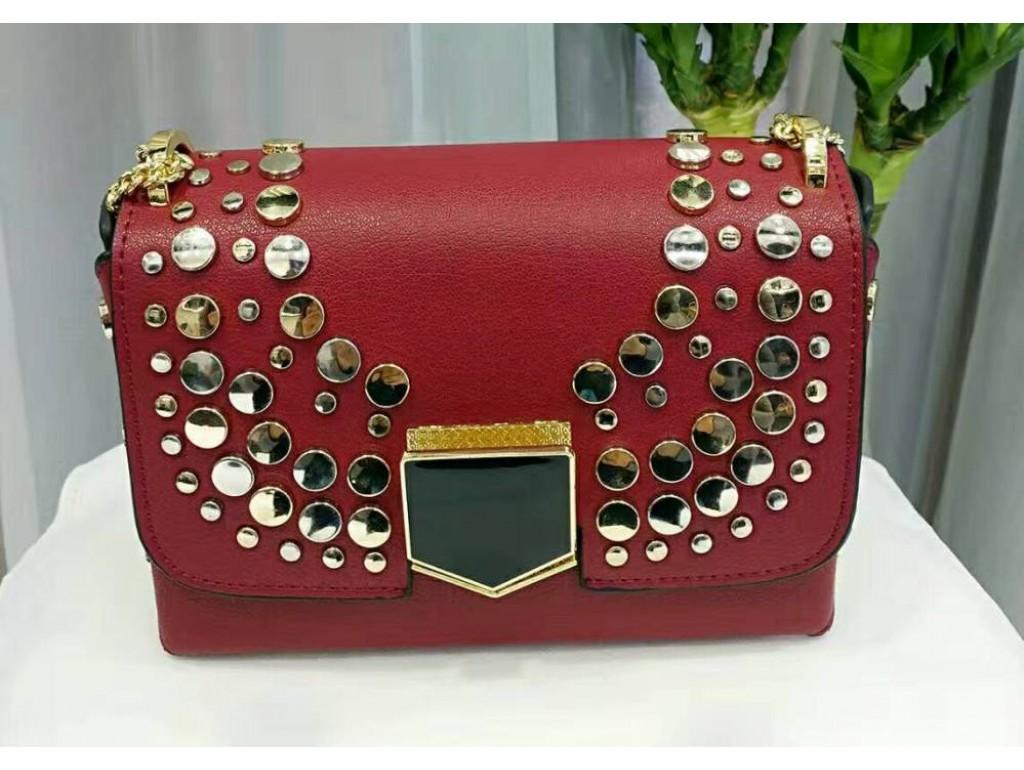 Женская сумка A86019-R - Royalbag Фото 1