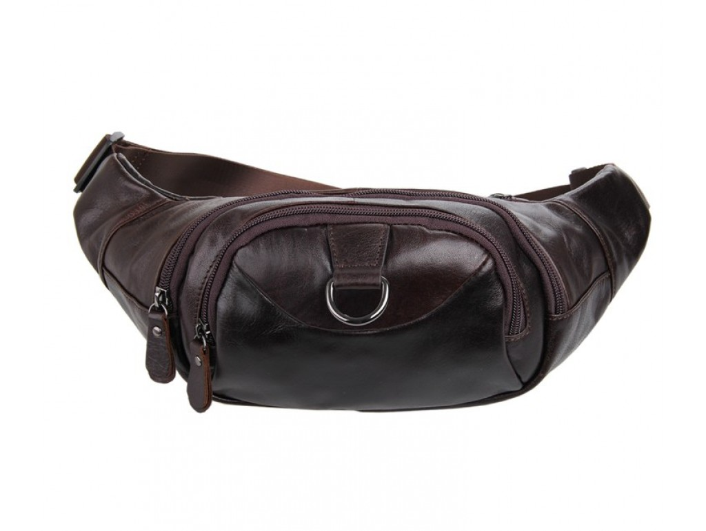 Кожаная сумка на пояс Noterdam - Royalbag