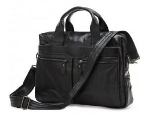 Мужская кожаная сумка для документов Jasper & Maine 7122A - Royalbag