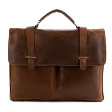 Мужской кожаный портфельTIDING BAG 7100B-1 - Royalbag Фото 2