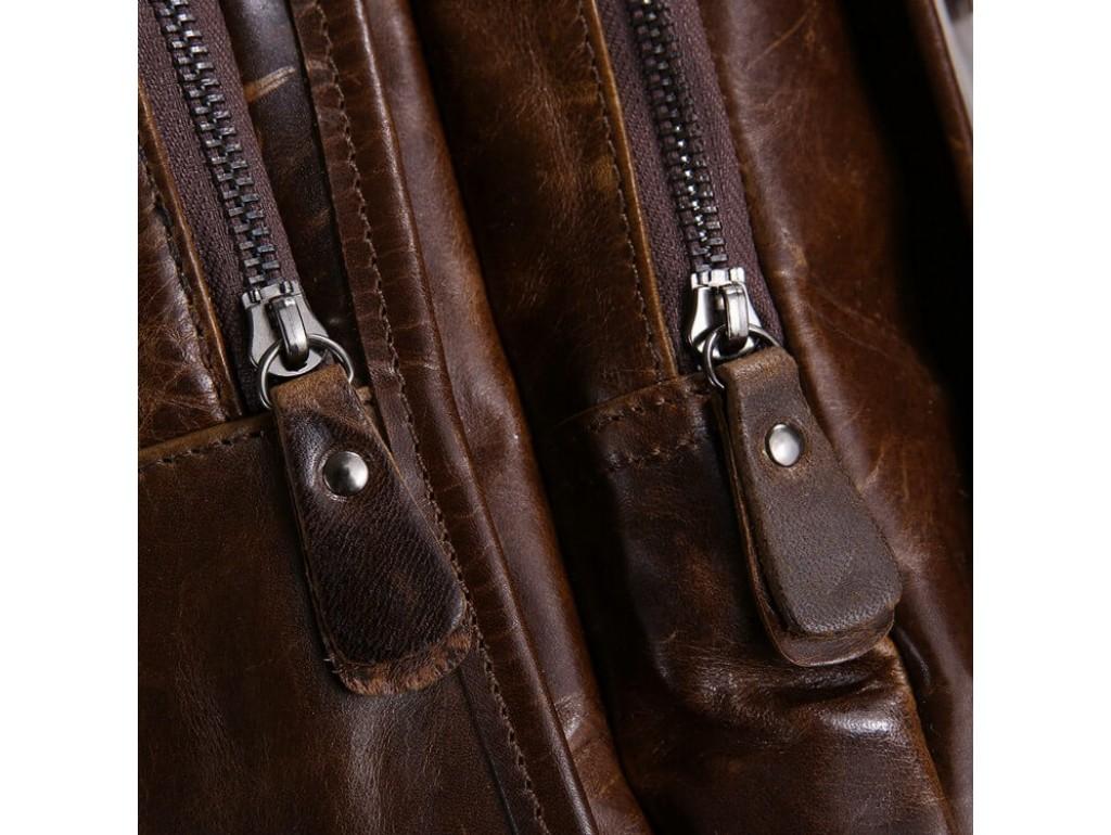 Рюкзак кожаный TIDING BAG 7202C