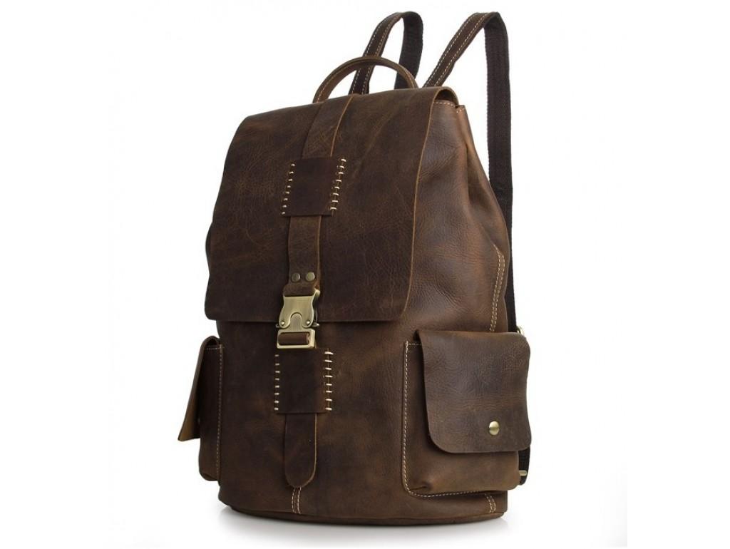 Рюкзак кожаный TIDING BAG 7253R - Royalbag Фото 1