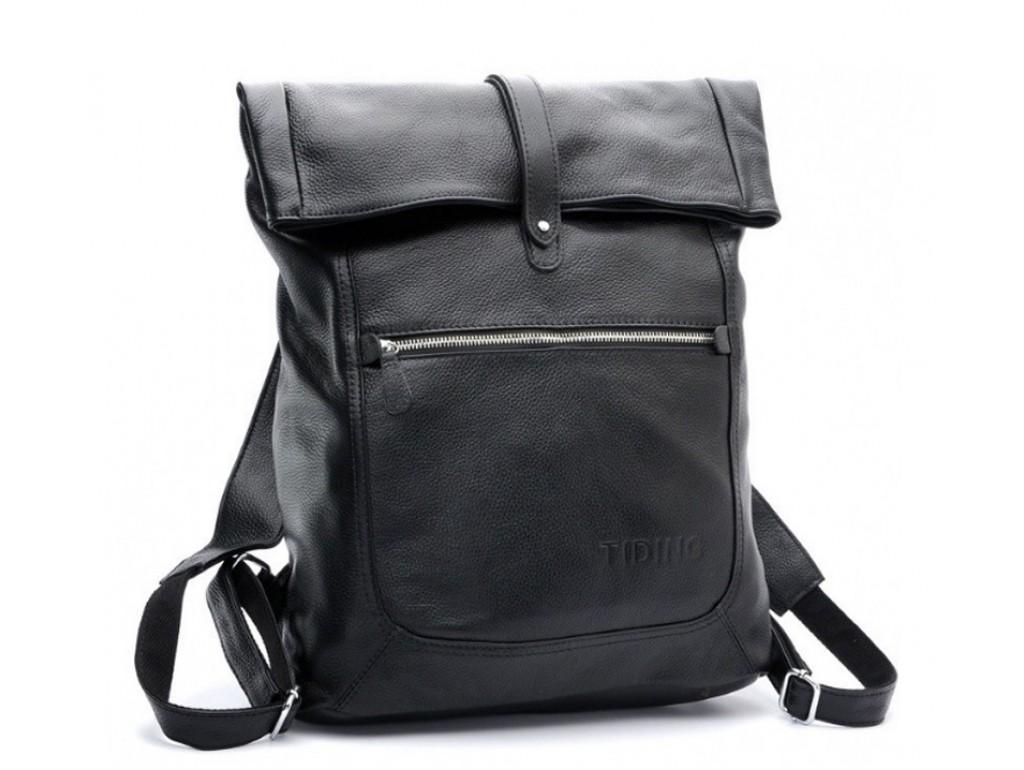 Рюкзак кожаный TIDING BAG T3058 - Royalbag Фото 1