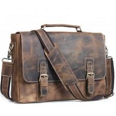 Мужской кожаный портфель TIDING BAG T8069B - Royalbag Фото 2