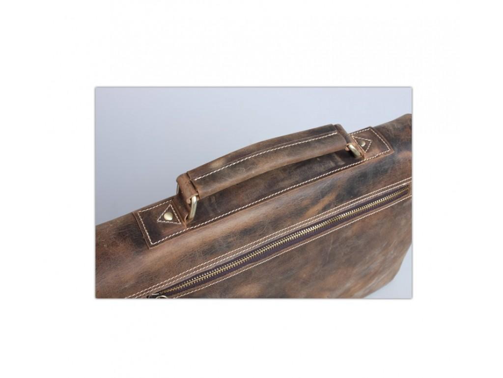 Мужской кожаный портфель TIDING BAG T8069B - Royalbag