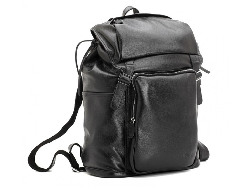 Рюкзак кожаный TIDING BAG T3067 - Royalbag Фото 1