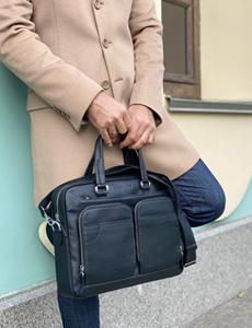 сумка шкіряна для ноутбука чоловіча