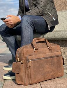 мужские кожаные сумки дорожные